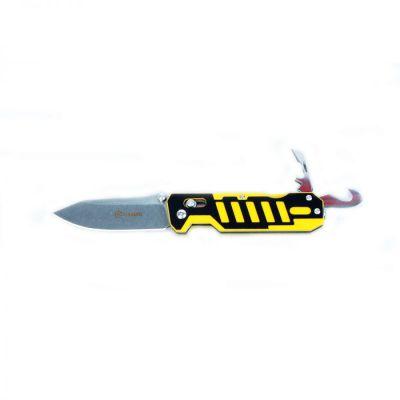 Нож складной Ganzo G735-YB чёрно-жёлтый