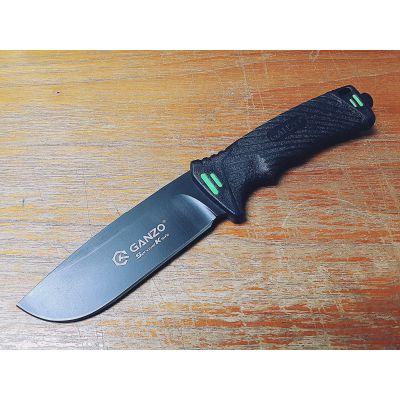 Нож нескладной Ganzo G8012-BK, чёрный